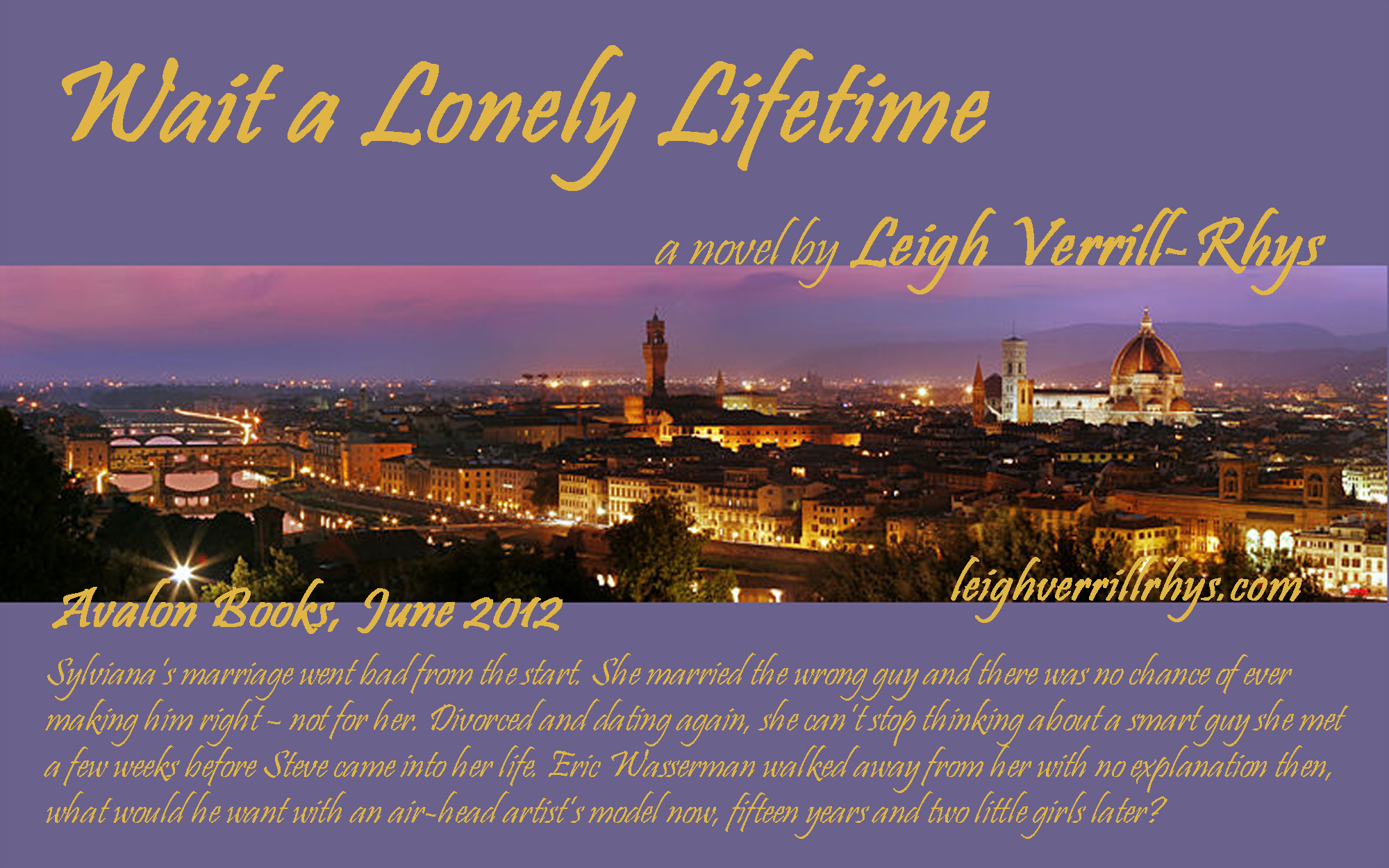 Promotional Material for Wait a Lonely Lifetime