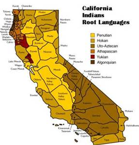 Native American languages spoken in California